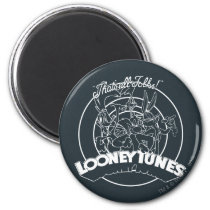 LOONEY TUNES™ That's All Folks Magnet