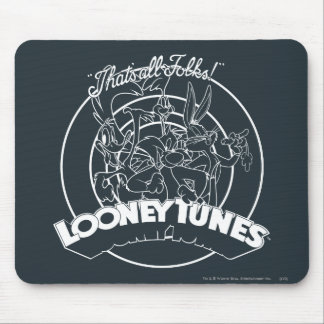 LOONEY TUNES™ That's All Folks Mouse Pad