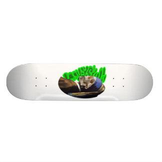 LooneySkull With A Pearl Earing Skateboard Deck