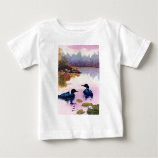 Loons At Twilight Infant Tshirt