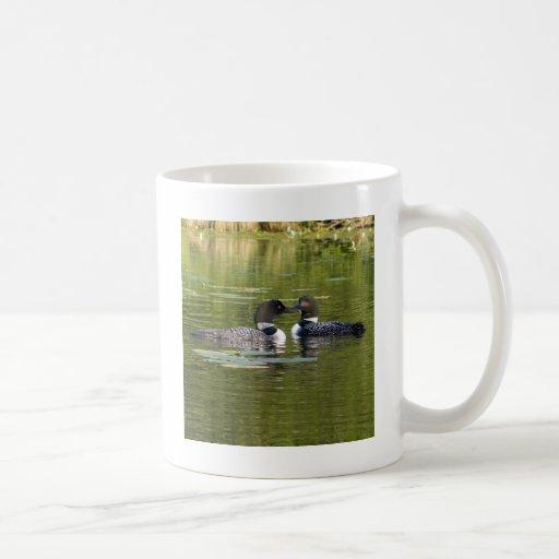 Loons Classic White Coffee Mug