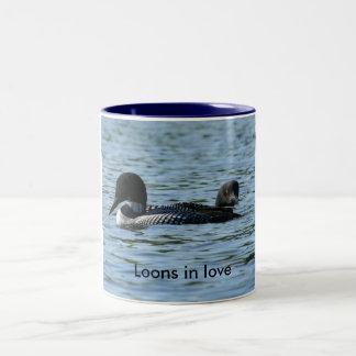Loons in love Coffee Mug