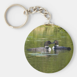 Loons Keychain