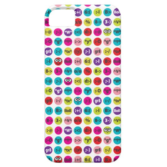 Loony Emoticons iPhone SE/5/5s Case
