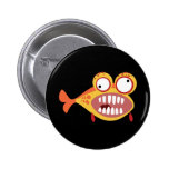 Loony Fish Button