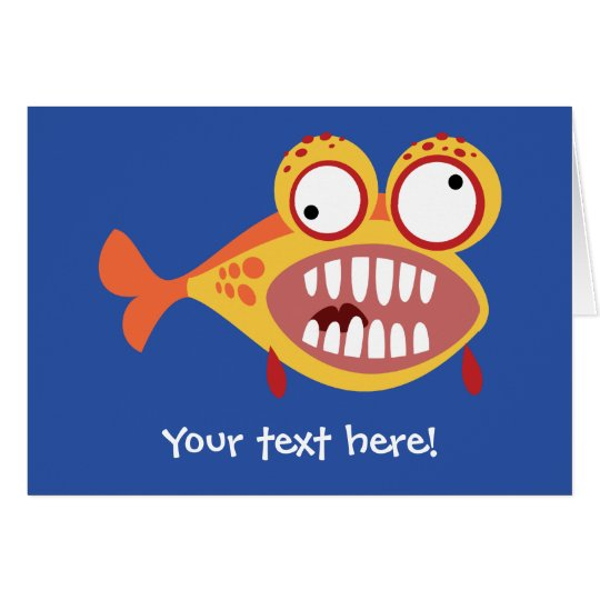 Loony Fish Card