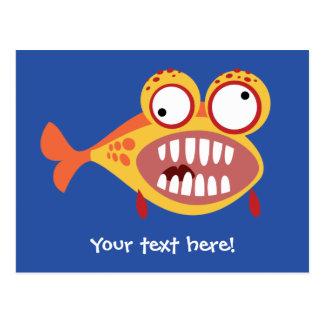 Loony Fish Postcard