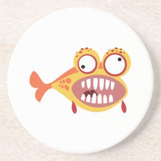 Loony Fish Sandstone Coaster