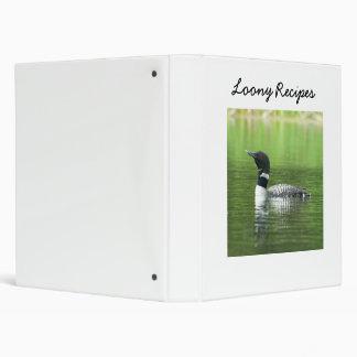 Loony Recipe Binder Book