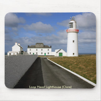 Loop Head lighthouse Mouse Pad