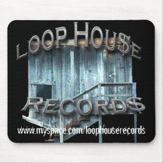 Loop House Records Mouse Pad