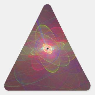 Loop.png infinito pegatina triangular