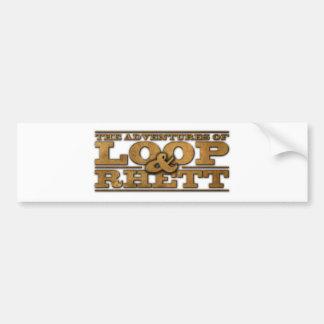 Loop & Rhett Official Merchandise Bumper Sticker