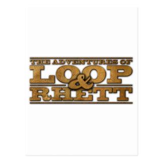Loop & Rhett Official Merchandise Postcard