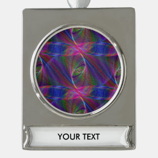 Loop Silver Plated Banner Ornament