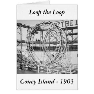 Loop the Loop, 1903 Card