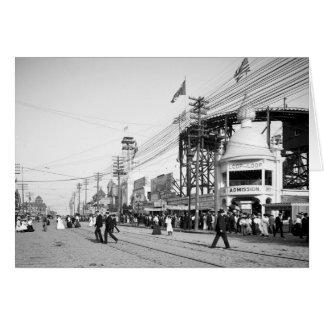 Loop the Loop Ride, Surf Avenue, Coney Island 1903 Cards