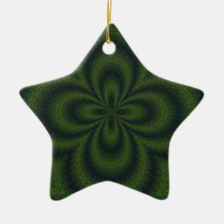 Loopedy Doo Kaleidoscope Mandala Ceramic Ornament