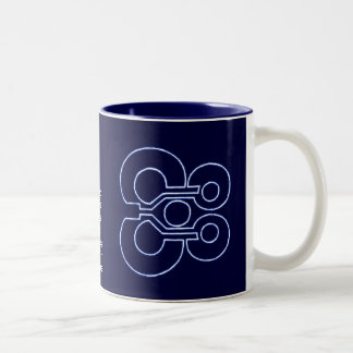 Loophole Two-Tone Coffee Mug