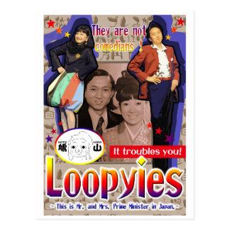 Loopies Postcard