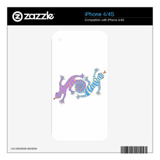 Looping Lizards ! Skin For The iPhone 4S