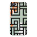 Looping Swirl Pattern iPhone 4/4S Case