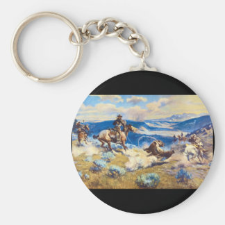 Loops and Swift Horses are_Art of America Keychain