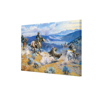 Loops and Swift Horses are Surer than Lead, 1916 Canvas Print