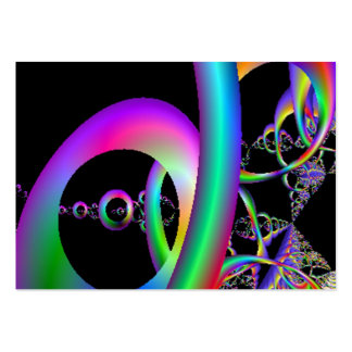 Loops Art Card Large Business Cards (Pack Of 100)