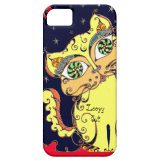 Loopy Cat – Mate Barely There iPhone 5/5S Case