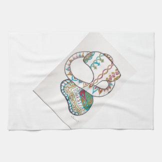Loopy hoop kitchen towel