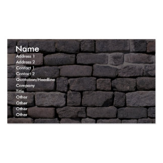 Loose brick wall Double-Sided standard business cards (Pack of 100)