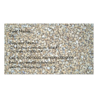 Loose Brown Stone Pattern Texture Double-Sided Standard Business Cards (Pack Of 100)
