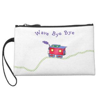 Loose Caboose Choo Choo Train Wristlet Wallet