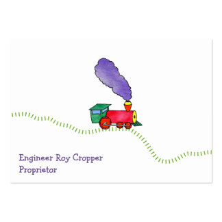 Loose Caboose Clickety Clack Train Shop Business Card