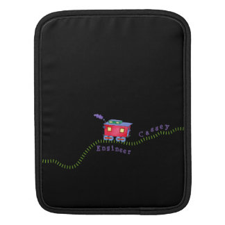 Loose Caboose Clickety Clack Train Tracks Sleeve For iPads