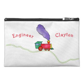 Loose Caboose Clickety Clack Train Travel Accessory Bag