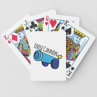 Loose Cannon Bicycle Playing Cards