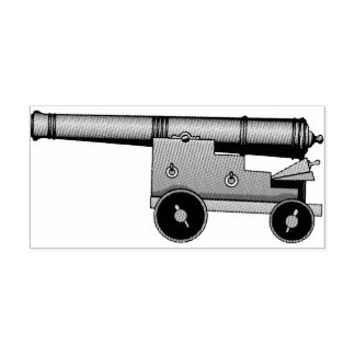 Loose Cannon Rubber Stamp