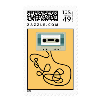 Loose Cassette Tape Loops Stamps