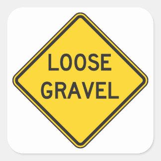Loose Gravel Stickers
