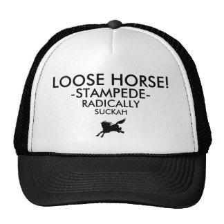 LOOSE HORSE! EYE TEST TRUCKER HAT