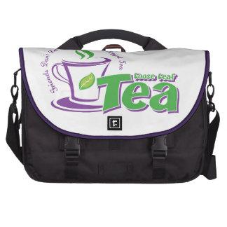 Loose Leaf Tea Laptop Computer Bag