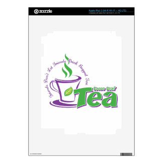 Loose Leaf Tea Decal For iPad 3