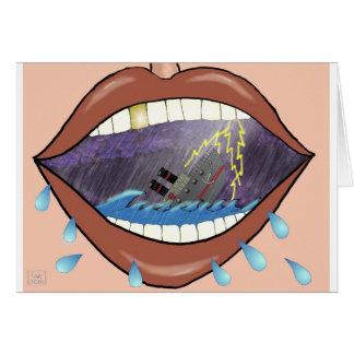 Loose Lips, Sink Ships Card