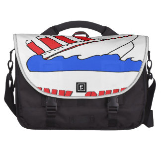 Loose Lips Sink Ships Laptop Commuter Bag