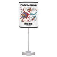 Loose Memory Inside Neuron Synapse Geek Humor Desk Lamp
