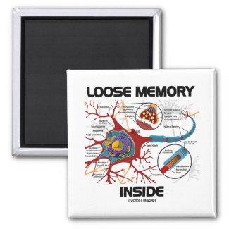 Loose Memory Inside (Neuron / Synapse) Fridge Magnets