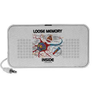 Loose Memory Inside (Neuron / Synapse) Speaker