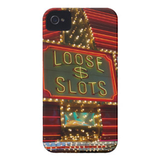 Loose slots sign on casino, Las Vegas, Nevada iPhone 4 Cover